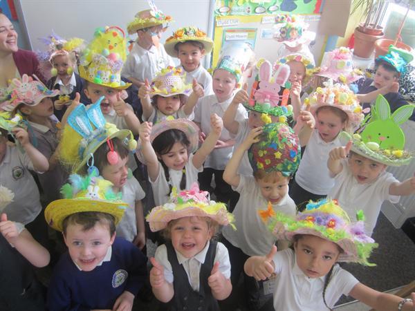 Hetiau Pasg hyfryd / Beautiful Easter Hats