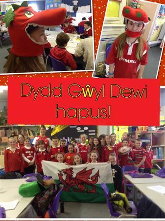 Dydd Gwyl Dewi hapus!