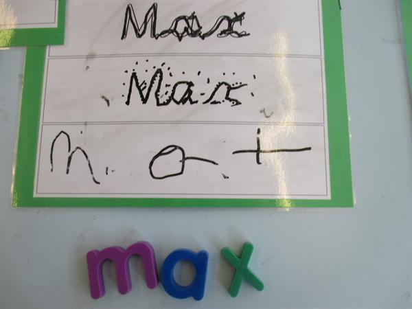 Ymarfer ein henwau / Practising our names