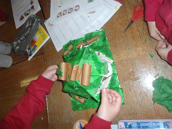 Creating Celtic roundhouses