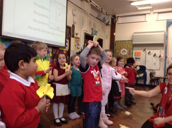 Singing our Welsh song