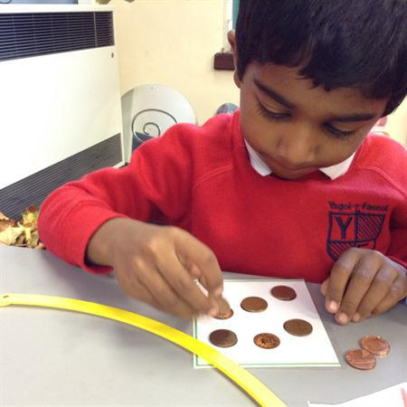 Counting pennies to pay for the pets!