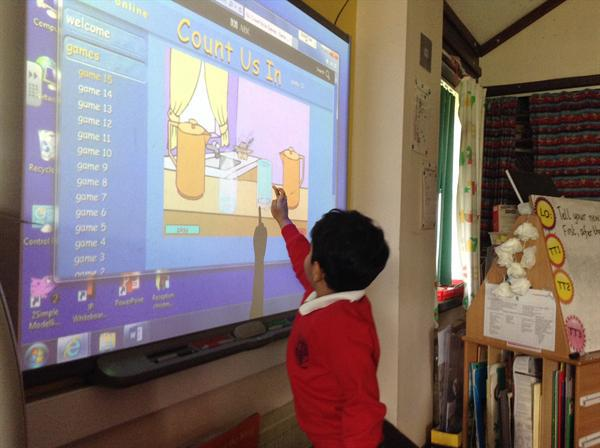 Using ICT games to teach capacity