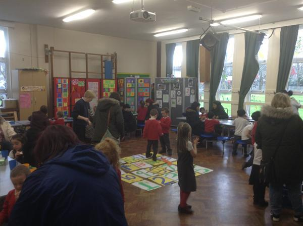 Our games afternoon was very popular!