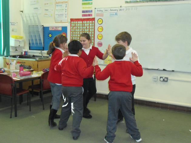 Creating our own Tudor dances