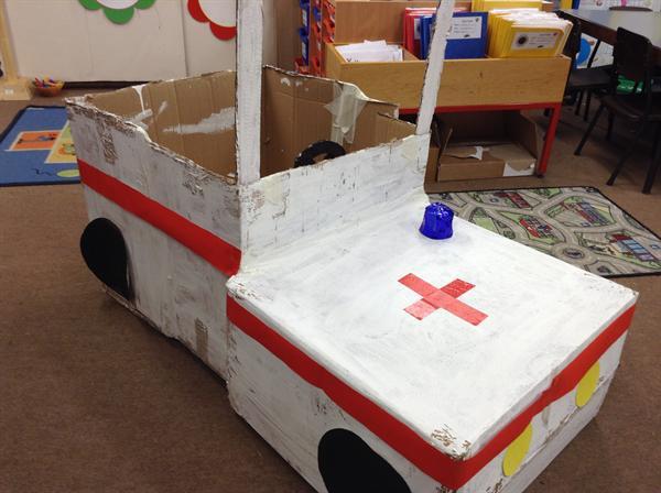 The most wonderful emergency vehicle ever