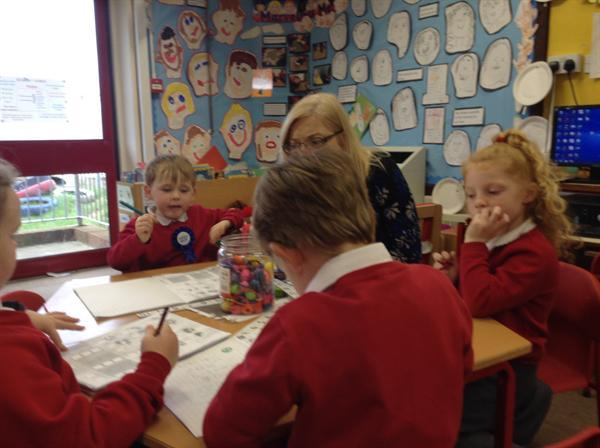 Working with numbers up to ten