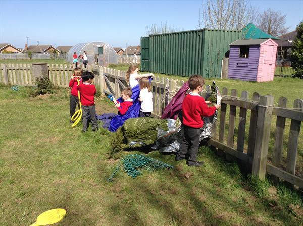 Our settlements- den building