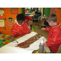 Creating props for the Gruffalo Cafe