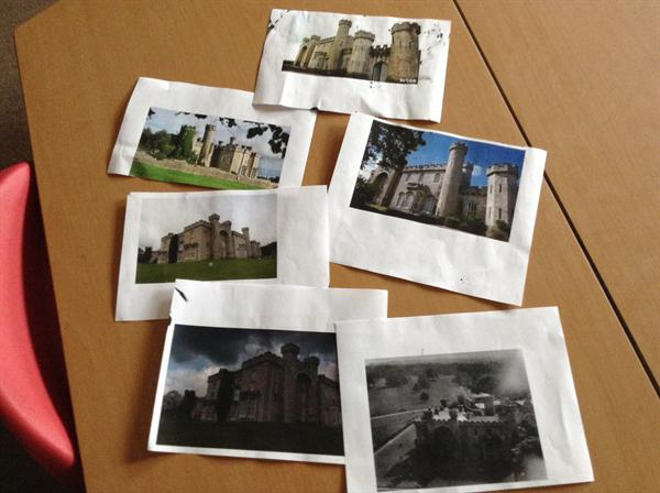 Nursery found these images of Bodelwyddan castle.