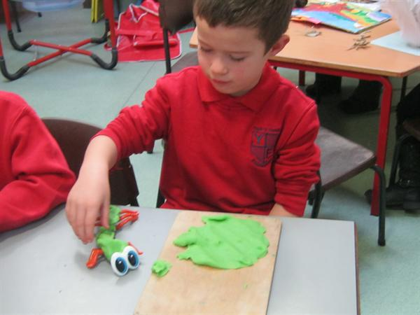 Creating our own dinosaurs