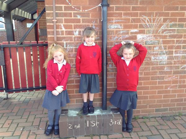 Ordinal numbers- 1st, 2nd and 3rd.
