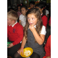 Golden time - cinema with popcorn!