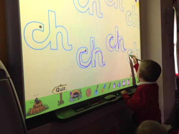 Practising our phonics