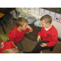 Partner talk in problem solving