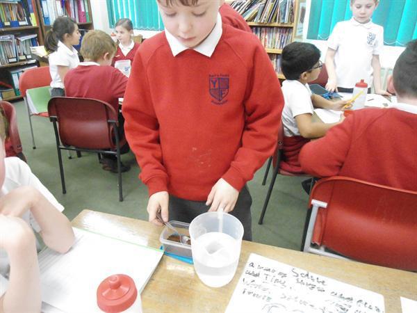 Testing solubility