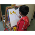 Number formation and orientation practise