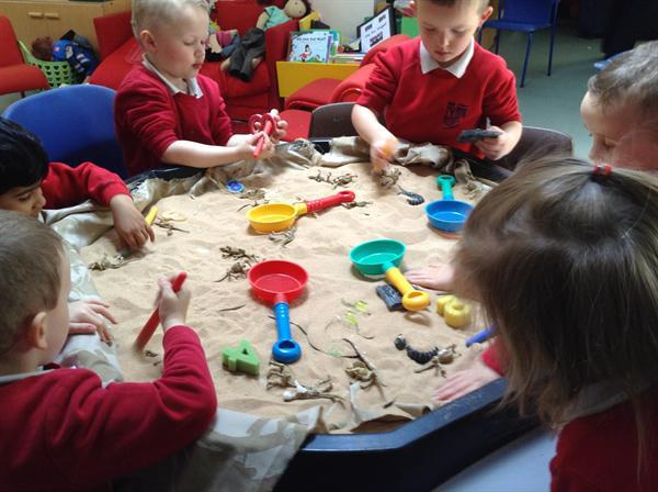 Archaeological dig-counting objects reliably.