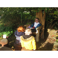 Storytelling in the garden