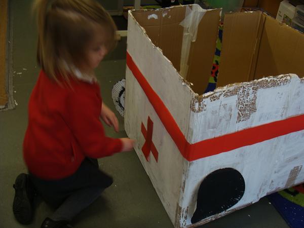 Making the ambulance