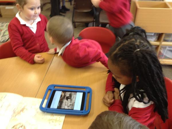 Using Ipads to research Stone Age animals