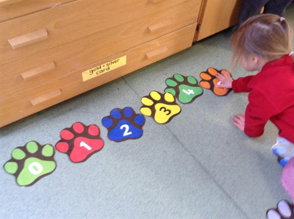 Nursery-ordering numbesr to 10