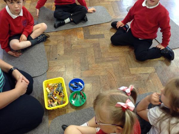 Adding objects to see how many altogether?