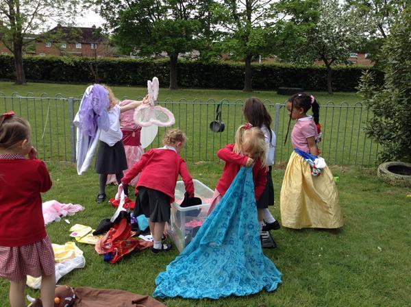 Free choice- Princess dress up!