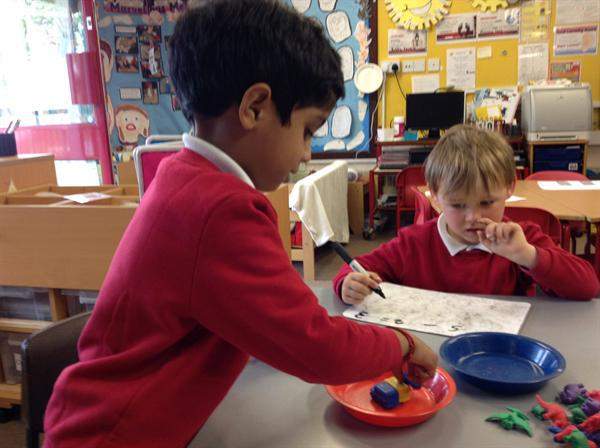 Using objects to find out how many are left?