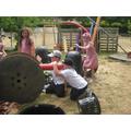 Den building - 3 Little Pigs