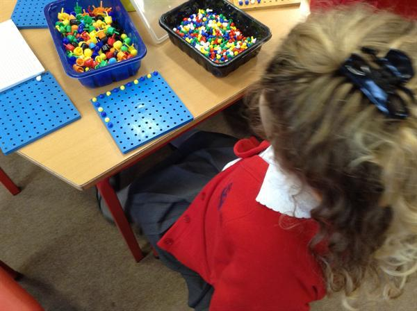 Pattern work - counting in twos