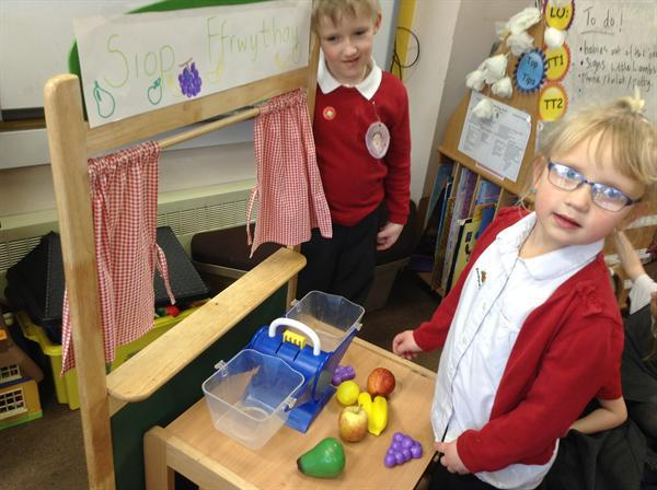 Our 'Little Lambs Nursery' for role-play!