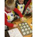 Baking cupcakes!