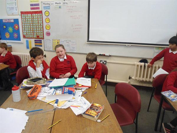 Planning our recycling presentation