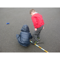 Measuring length using sticks and m
