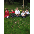 Making Gruffalo pictures