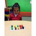 Building numbers using ten frames