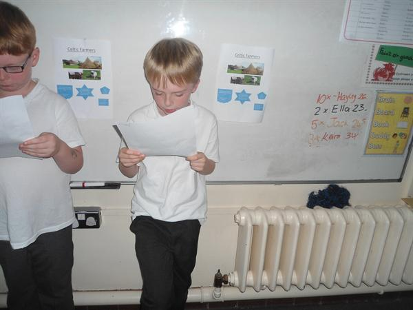 Presenting our findings