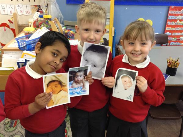 We guessed who each photo belonged to! (