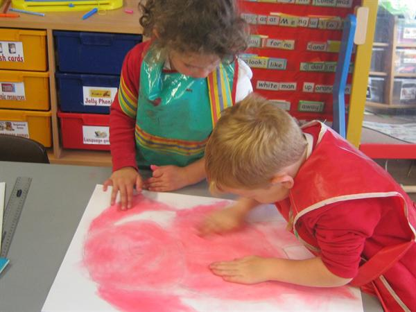 Using pastels