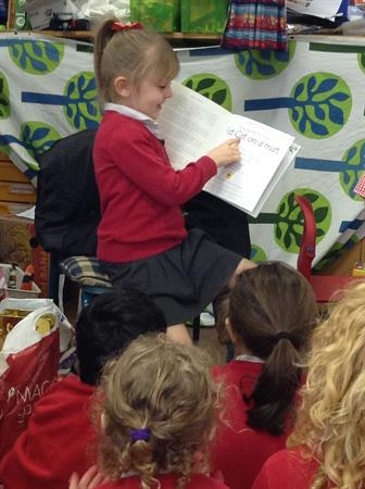 Being the teacher- re-telling the story