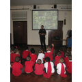 A visit from PC Catrin