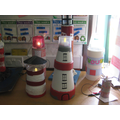 We added lights to our lighthouses!