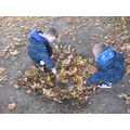Exploring in Forest School
