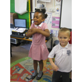 Dancing during Golden Time!