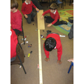 Exploring the ramps and cars