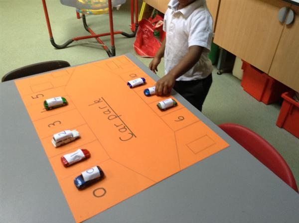 Nursery- number recognition.