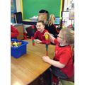 Practical maths - doubling our towers!