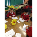 Discussing and sorting number patterns