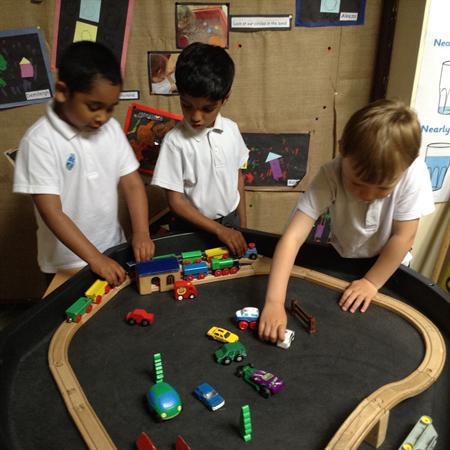 Enhanced Provision and free play